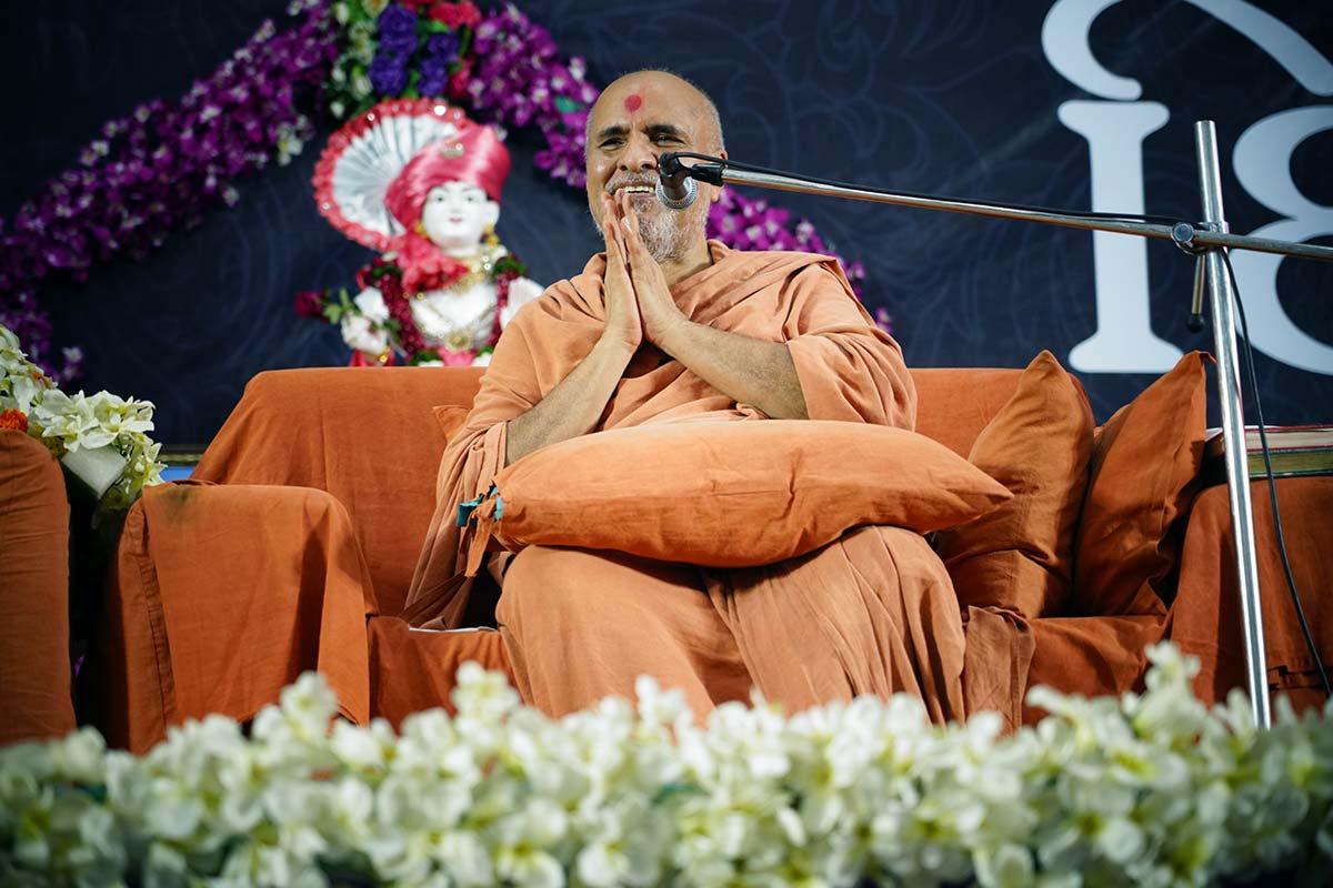 HDH Bapji Divyanjali Sabha   Surat   22 September, 2019